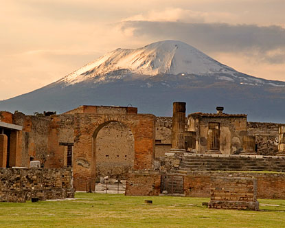 Attractions in Pompeii