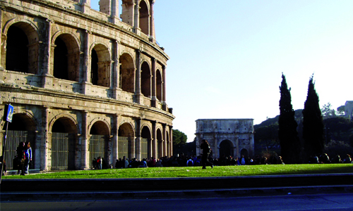 Colosseum tour guided